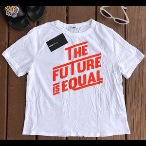 "NWT ""The future is equal"" Fashion Nova Tee Size XL"